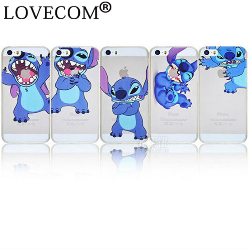 cute little monsters cartoon Stitch pattern Cover case apple iphone 5 5S PT1245 - LOVECOM Official Flagship Store store