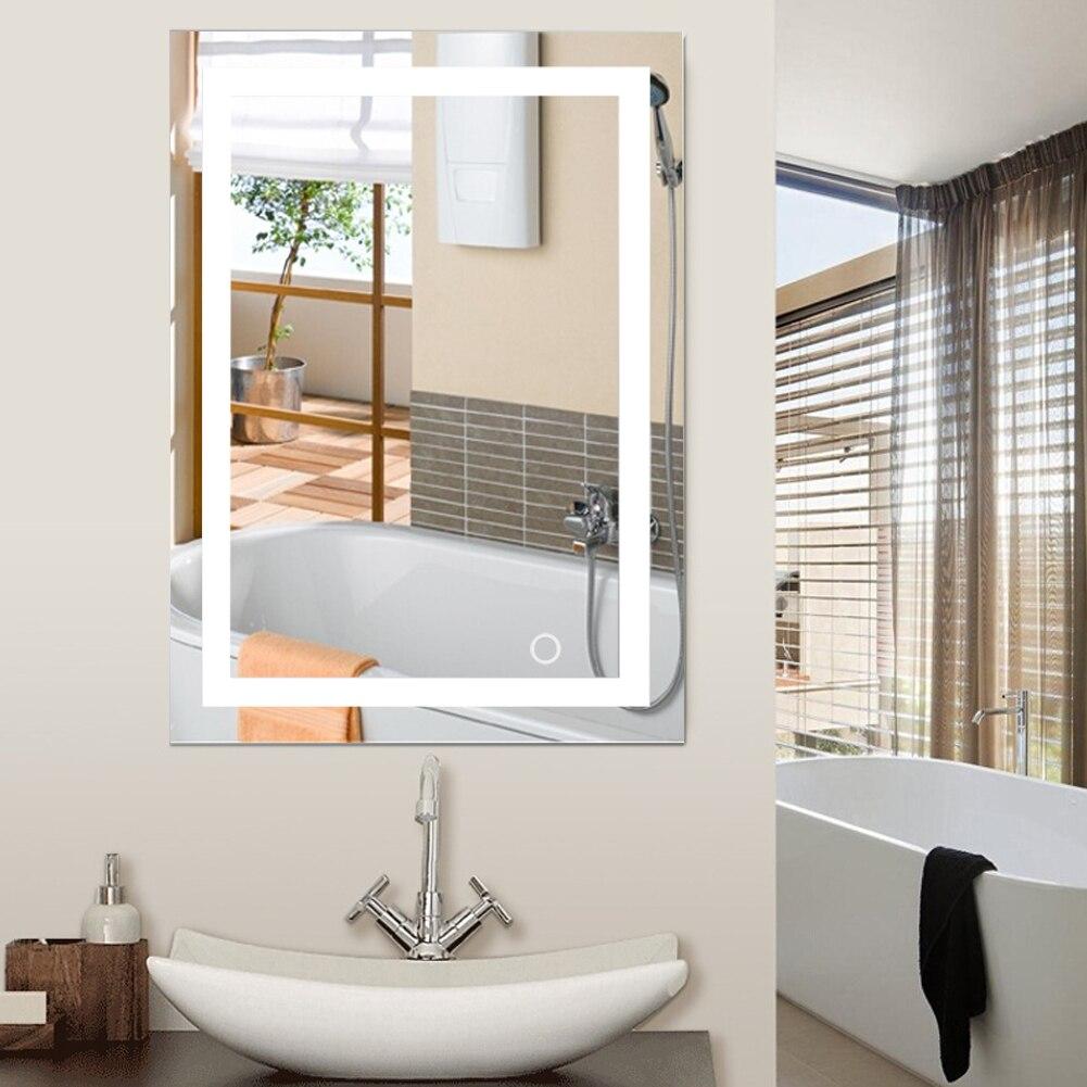 Liplasting Bath Mirror Led Cosmetic Mirror Lighted Vanity ...