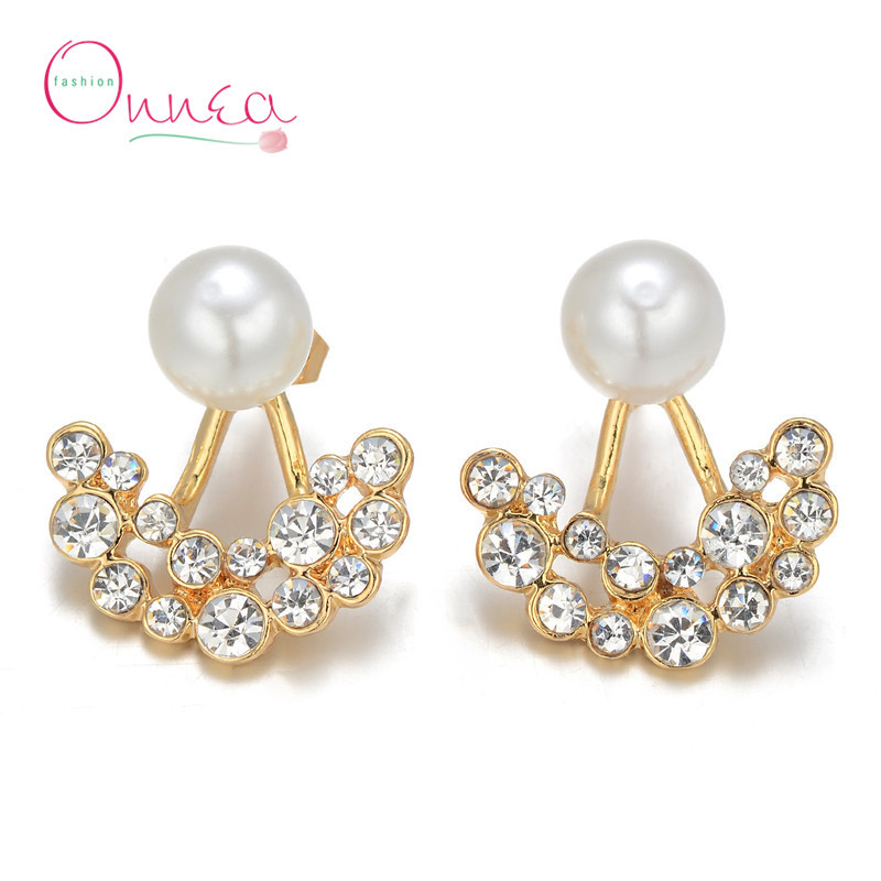 what side is the side for earrings aliexpress buy onnea simulated pearl ear 3728