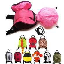 Kid's Cute Design Backpack with Anti-Lost Strap And Raincover