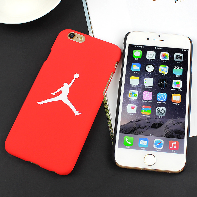 wholesale dealer c048d 162a1 7 & 7 Plus Case Flying Man Michael Jordan PC Hard Case For iphone 7 Plus  Back Cover For iphone 6s 6 Plus SE 5S Cases Fundas on Aliexpress.com | ...