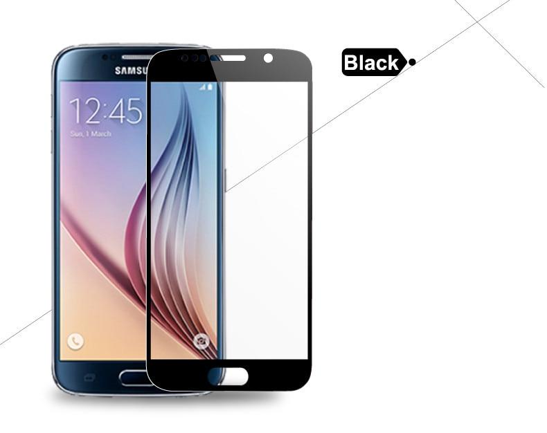 Pełna pokrywa screen protector szkło hartowane dla samsung galaxy s3 s4 s5 note 3 4 5 A3 A5 A7 2016 2017 J5 J7 Prime A8 C5 C7 Pro 17