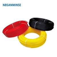 200 M/100 M 0420 0640 0860 1008 PA12 нейлоновый шланг полиамидная трубка шланг для воды/воздуха Высокое качество NBSANMINSE