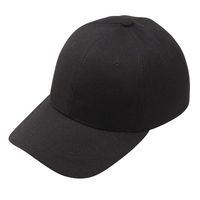 Hat Cap 2018 New Fashion Solid Women Men Baseball Cap Snapback Hat Hip-Hop Adjustable #FA22 fashion adjustable men women baseball cap solid hip hop snapback flat hat visor