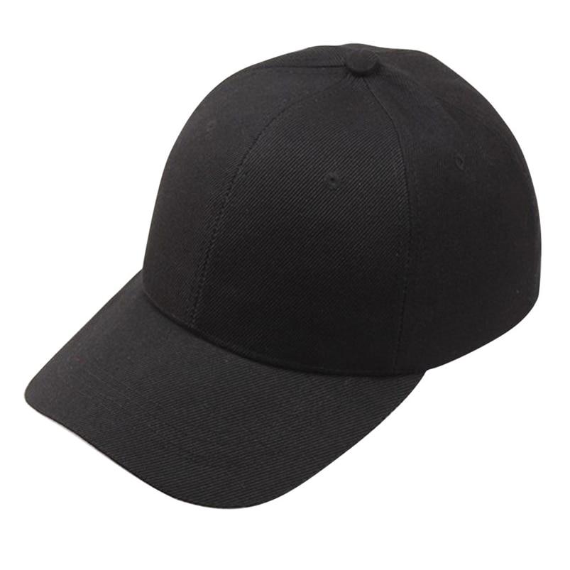 Hat   Cap   2018 New Fashion Solid Women Men   Baseball     Cap   Snapback Hat Hip-Hop Adjustable #A22
