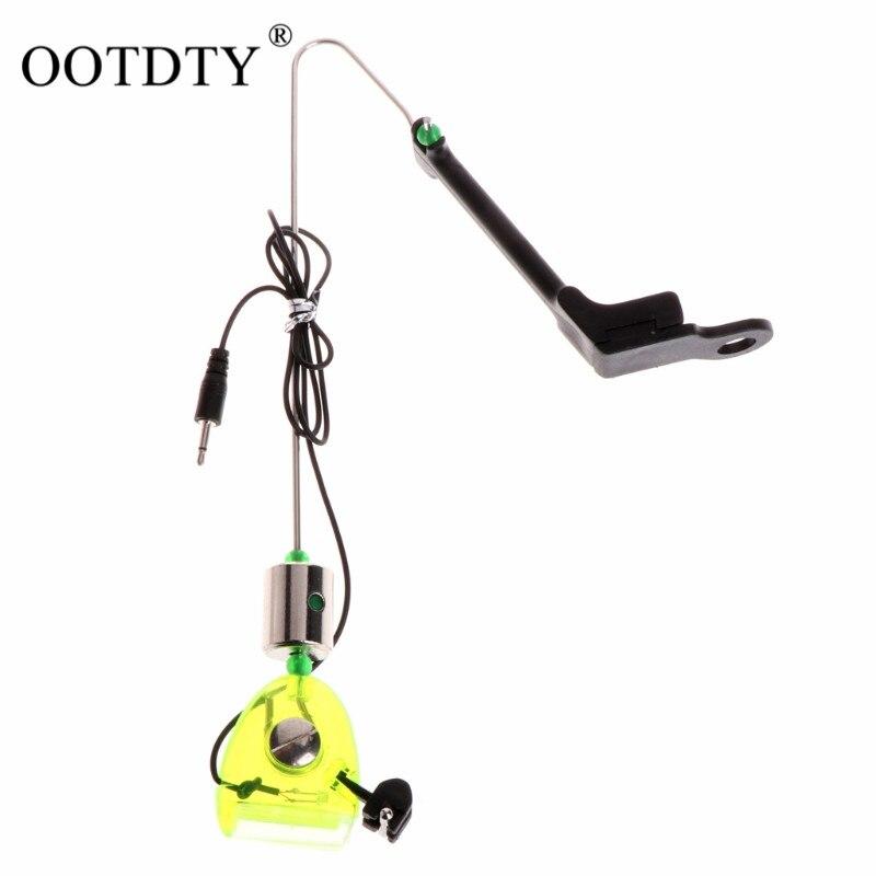 1 шт., рыболовная сигнализация для рыбалки, сигнализатор для укуса рыбы, датчик укуса, индикатор с подсветкой, рыболовные снасти для ловли ка...