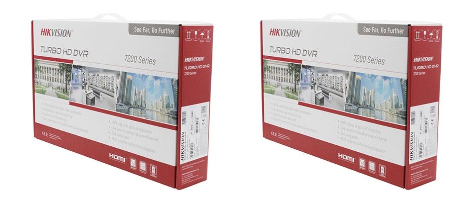 US $129 0 |Hik Original English Version 4ch/8ch DVR DS 7204HUHI K1 & DS  7208HUHI K1 AHD CVI TVI CVBS IP 8MP Security DVR for Analog Camera-in