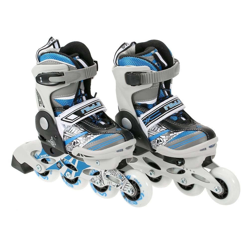 Professionnel enfants enfants Roller chaussures de planche à roulettes en ligne Durable Hockey Patines patins à roulettes Double serrure sécurisée