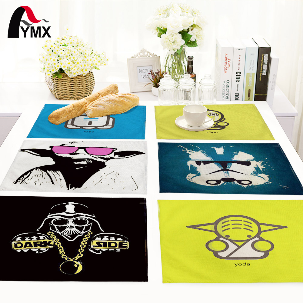 Cute Cartoon Table Mat For Wedding Set Bowl Dining Mats Kids Table Set Table Napkin Kitchen Decoration Table Pads