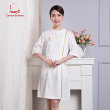 Beautician work clothes female summer new style beautician nurse Korean dress tattooist