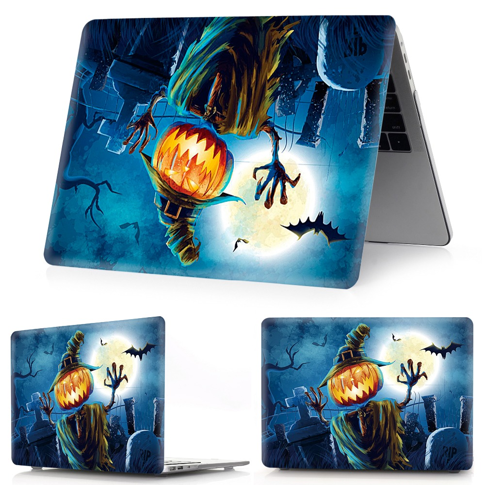 Image 4 - color printing Halloween notebook case for Macbook Air 11 13 Pro Retina 12 13 15 inch Colors Touch BarNew Pro 13 15 New Air 13-in Laptop Bags & Cases from Computer & Office