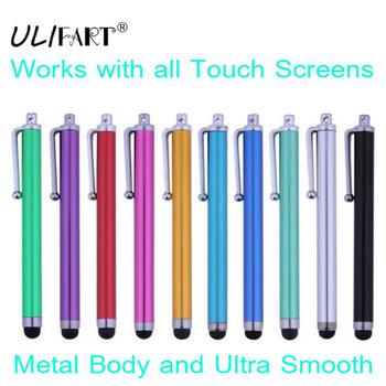 ULIFART 100Pcs/Lot ULTRA SMOOTH CAPACITIVE STYLUS PEN for ALL Mobile Phones,Tablet,PC
