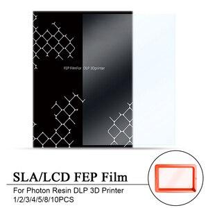 1/2/3/4/5/8/10PCS 140x200mm SLA/LCD FEP Film 0.15-0.2mm Thickness For Photon Resin DLP 3D Printer(China)