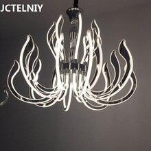 Современный роскошный светодиодный акриловый светильник для гостиной ресторана