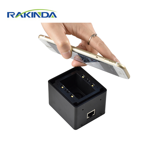 Cost Effective 1D/2D Mobile Phone Screen QR Code Fixed Mount Scanner for Locker, Access Control, Kiosk 1