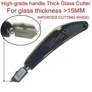 Высокое качество BEIDOU-NIKKEN ручка толстое стекло Резак Режущий инструмент. Резка стекла 10 ~ 25 мм. Одна штука.