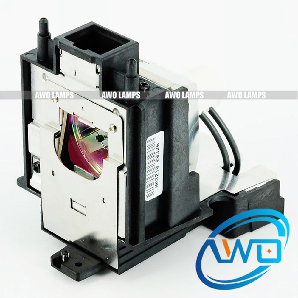 AWO High Quality AN-K15LP Replacement Projector Lamp With Housing For Sharp XV-Z17000 XV-Z18000 XV-Z19000/Z15000 with SHP Burner projector bulb an z90lp for sharp dt 200 xv z90 xv z90e xv z90u xv z91 xv z91e xv z91u with japan phoenix original lamp burner