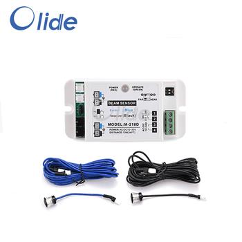 Automatyczne drzwi przesuwne bezpieczeństwa czujnik wiązki czujnik wiązki s dla Autodoor automatyczny czujnik drzwi bezpieczeństwa na podczerwień Anti-Clip urządzenia tanie i dobre opinie olord Automatyczne bram M-218D Electrical AC DC 12V-36V 58mA(when voltage is 12v) 18mA(when voltage is 12v) Blue Wire 5 5 meters