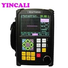 Портативный ультразвуковой дефектоскоп KUT650 автоматическая калибровка UT дефектоскоп детектор ультразвуковой дефектоскоп тестер метр Диапазон 0~ 10000 мм