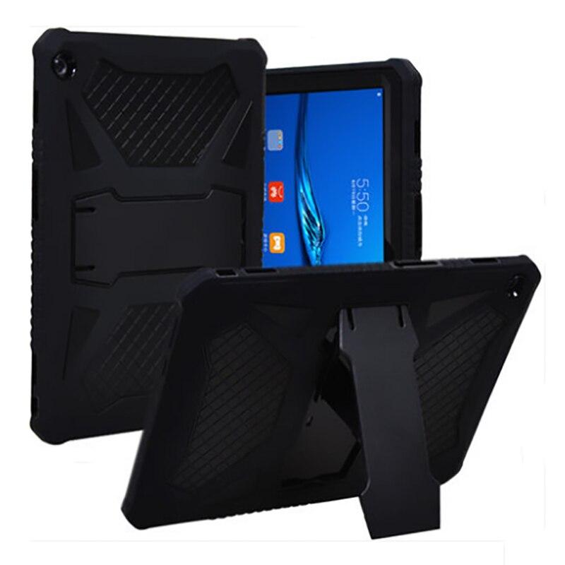 Pour Huawei MediaPad M3 Lite 10 10.1 pouces BAH-AL00/W09 Tablet Cas Anti-Scratch Antichoc Trois Couche Pleine Body Armor Protection