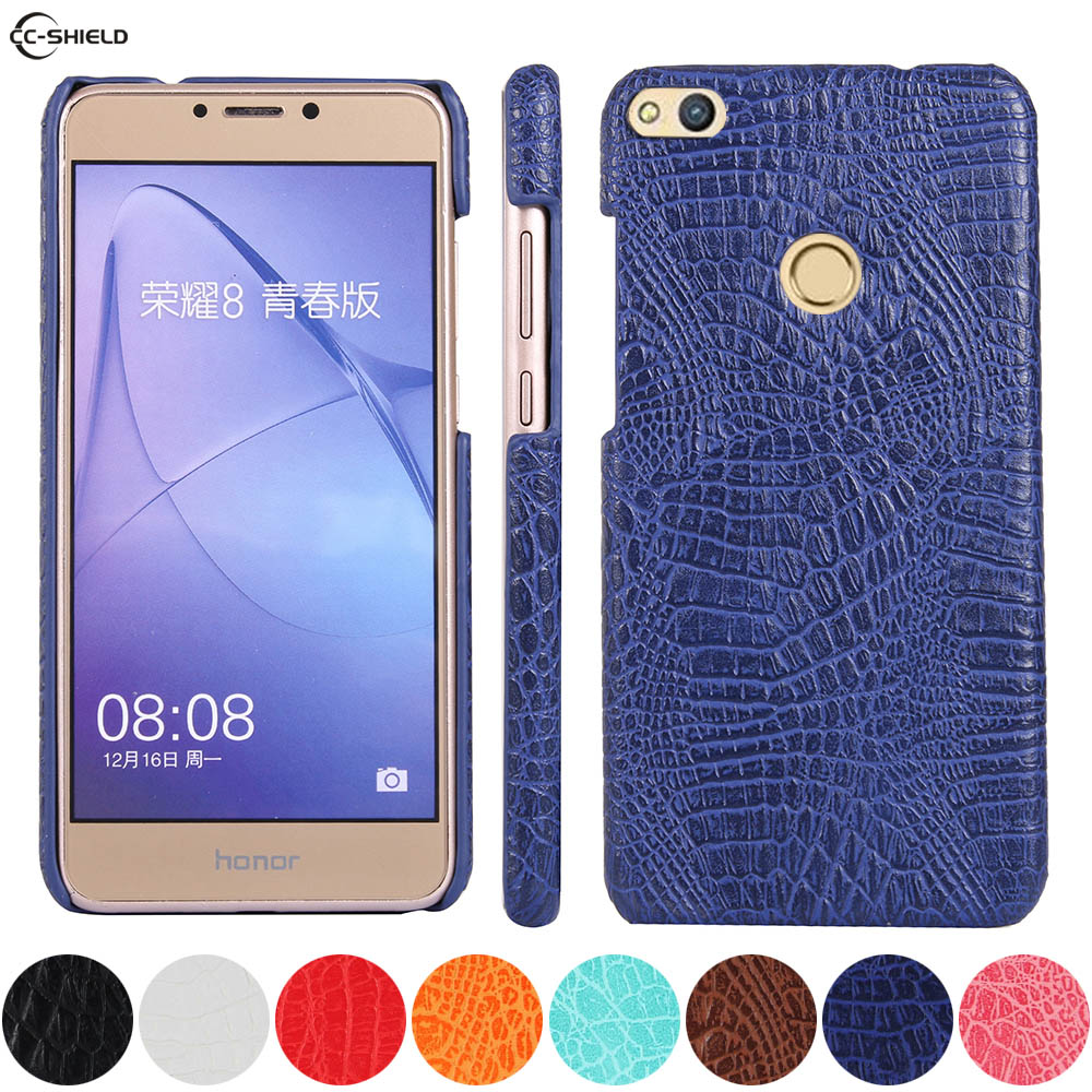 Leather Case for <font><b>Huawei</b></font> P8 P9 Lite 2017 <font><b>PRA</b></font>-<font><b>LX1</b></font> <font><b>PRA</b></font>-LA1 Phone Bumper Fitted Case for <font><b>Huawei</b></font> P8Lite P9Lite 2017 <font><b>PRA</b></font> <font><b>LX1</b></font> PC Cover image
