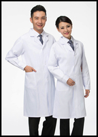 Medical Clothing White Lab Coats Thin Thick Style Doctors Uniform For Men Women Nurse Uniform Hospital