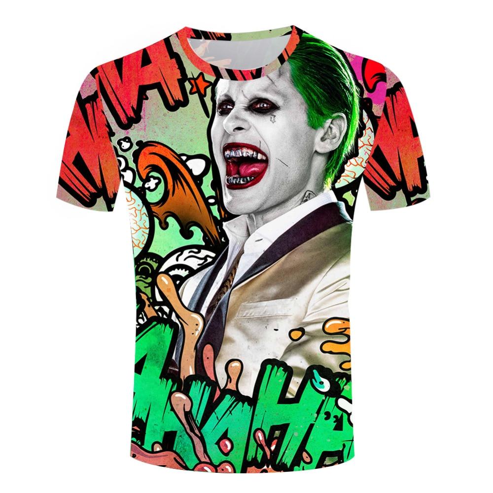 a00429156 Suicide Squad 3d T Shirt Harley Quinn T-shirt Joker Cool Novelty Funny Hip  Hop Pop Tshirt Style Men Printed Fashion Casual S-4XL