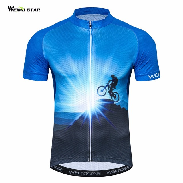 Outdoor Cycling Jersey Mens bike clothing bicycle tops Ropa Ciclismo  maillot road MTB jersey youth 2018 c9925439a