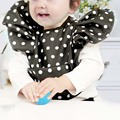 BBK Baby Bibs Autumn Winter angel Lunch Bibs boys Scarf Girl Newborn Kids Bib Waterproof Bib Children Self Feeding Care 1pc D*