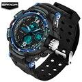 Sanda homens relógio do esporte 2017 relógio masculino digital led relógios de pulso de quartzo dos homens top marca de luxo digital-relógio homem relogio masculino