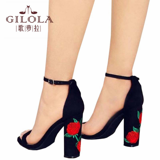 Fashion High Heels Hollow Open Toe Women Pumps Women Shoes Cut ...