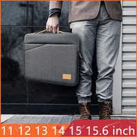 """15.6 pollici Impermeabile Del Computer Portatile Del Sacchetto Del Manicotto per il Computer Portatile 11 12 13 13.3 14 15.6 """"Uomini Cassa Del Taccuino Del Sacchetto Per macbook Air 13 15 Pro 15.4"""
