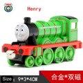 Nuevo de Metal Fundido A Presión Thomas y Amigos Tren de Una Pieza Henry Megnetic Trackmaster Tren Juguetes The Tank Engine Juguetes Para Los Niños niños