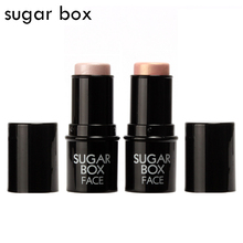 Sugar Box Face Makeup Highlighter Stick Shimmer Highlighting Powder Creamy Texture Silver Shimmer Light Brand
