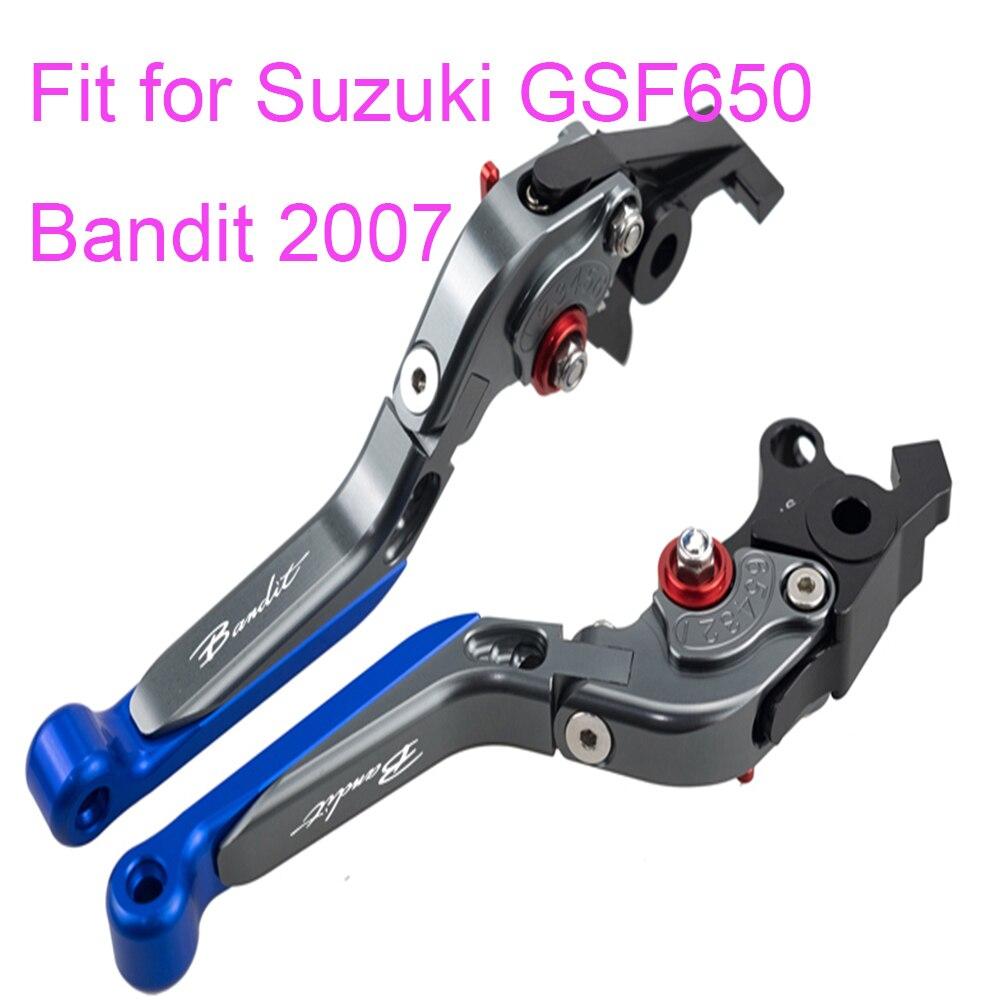 KODASKIN левое и правое Складные Выдвижные сцепные рычаги для Suzuki GSF650 Bandit 2007