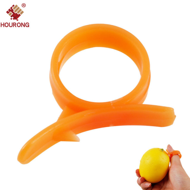 9Pcs Cooking Tools Peeler Finger Type Open Orange Peeler Machine Orange  Device Tools Creative Kitchen Accessories