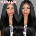 """Malaysian Lace Front Human Hair Wigs With Baby Hair Cheap Malaysian Straight  Full Lace Wigs 8""""-24"""" Malaysian Straight Hair Wigs"""