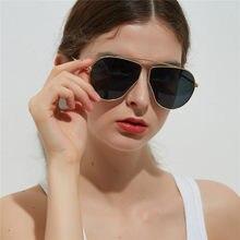 8fdd26156 Piloto Óculos De Sol Das Mulheres 2018 Moda Lrregular poligonal Óculos  Óculos Femininos Óculos de Sol Da Moda Retro Luxo NX