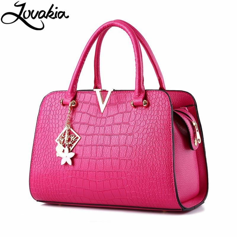 ФОТО 2017 Women Bag Fashion Designers Casual Bag Bolsas Femininas Famous Brand V Metal Tote Leather Bag Lady Handbags Shoulder Bag