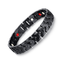 Healthy Magnetic Bracelets Bangles Stainless Steel Jewelry For Men Women Wholesale Men S Hand Chain Gold