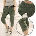 Повседневные брюки женские большие ярдов Осень Тонкий вскользь джинсовые брюки стрейч женщины джинсовые брюки хлопчатобумажные брюки XL-4XL плюс джинсовой ткани женщин