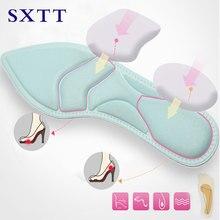 Купить с кэшбэком SXTT-4D Orthopedic insoles Soft women shoes Insole High Heel Shoe Pad Pain Relief Insert Cushion Pad gifts for women