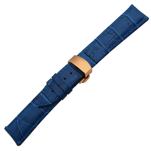 Image 3 - Genuine Leather Watchband for Breitling Omega Mido Replacement Watch Band Butterfly Clasp Strap 14/16/18/19/20/21/22/23/24/26mm