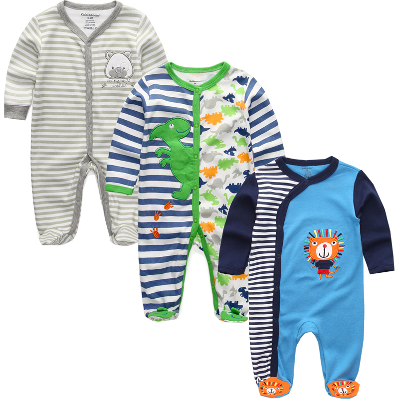 Autumn Unisex Newborn Toddler Infant Costumes 3 6 9 12M Pajamas Baby Clothes Cartoon Printed Girl Boy Cotton Romper Clothing Set youqi quality baby boy clothes girl rompers unisex newborn toddler infant costumes 3 6 18m pajamas clothing autumn baby clothes