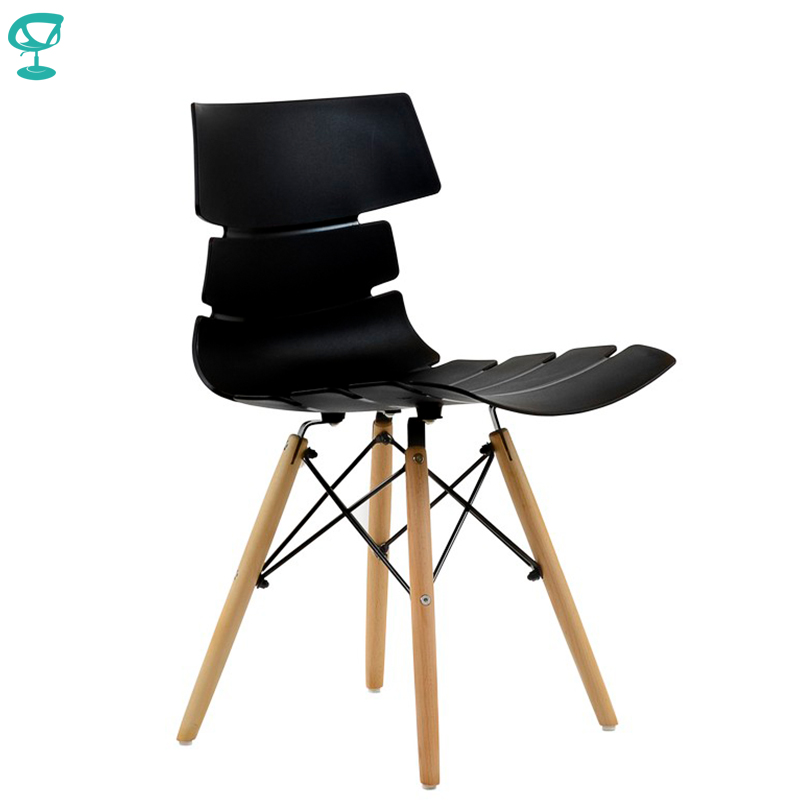 95199 Barneo N-230 Plastic Wood Kitchen Breakfast Interior Stool Bar Chair Kitchen Furniture Black Free Shipping In Russia