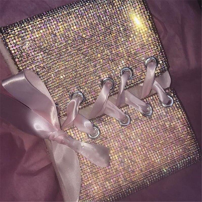 Bling Kristall Cummerband weibliche perlen gürtel Breite gold/Silber übertrieben große gürtel punk bar gürtel Elastische Taille BT077S40