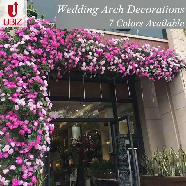 Wedding Arch Decoration Flower Guirlande Fleurs Artificielles