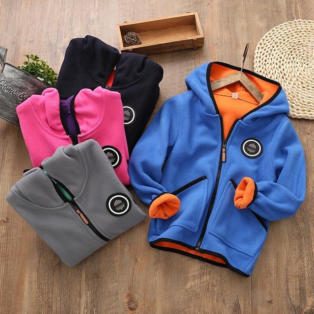2019 אביב ילדה מעיל פעוט מעיל עבור בנות מעיל צמר תלבושת בגדי תינוק בני ילדי תינוק חולצות