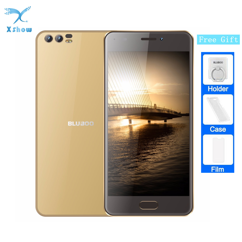 freeshipping BLUBOO D2 5 2 3G Smartphone MTK6580A Quad Core Android 6 0 1G RAM 8G