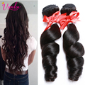 Malaysian Virgin Hair Malaysian Loose Wave 3 Bundles 7A Grade Virgin Unprocessed Human Hair Perruque Crochet Hair Extensions